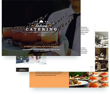 catering proposal software