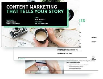 content marketing proposal software