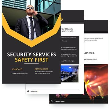 security services proposal software