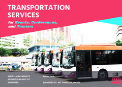 transportation services proposal template