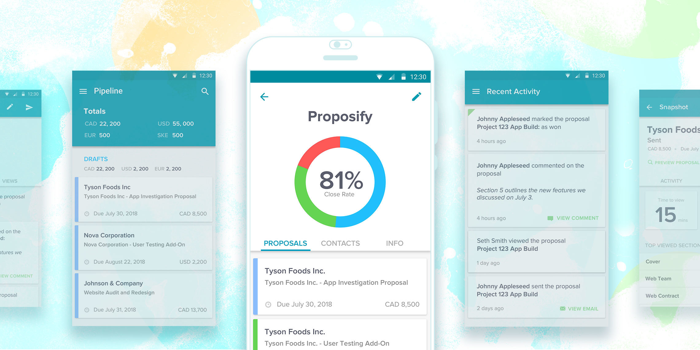 Introducing Proposify's New Android App!