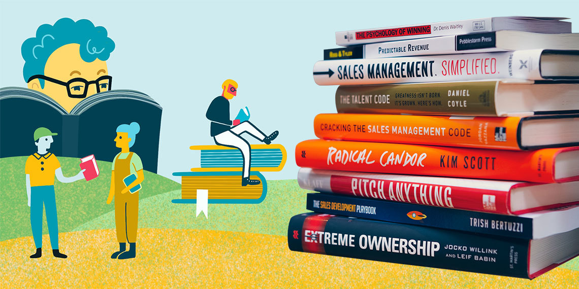 The Sales Leader's Library: 9 Books You Need to Read Right Now (Plus a Chance to Win Them All!)