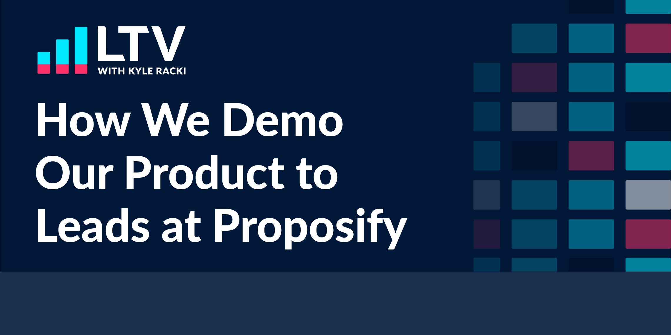 How We Demo our Product to Leads At Proposify