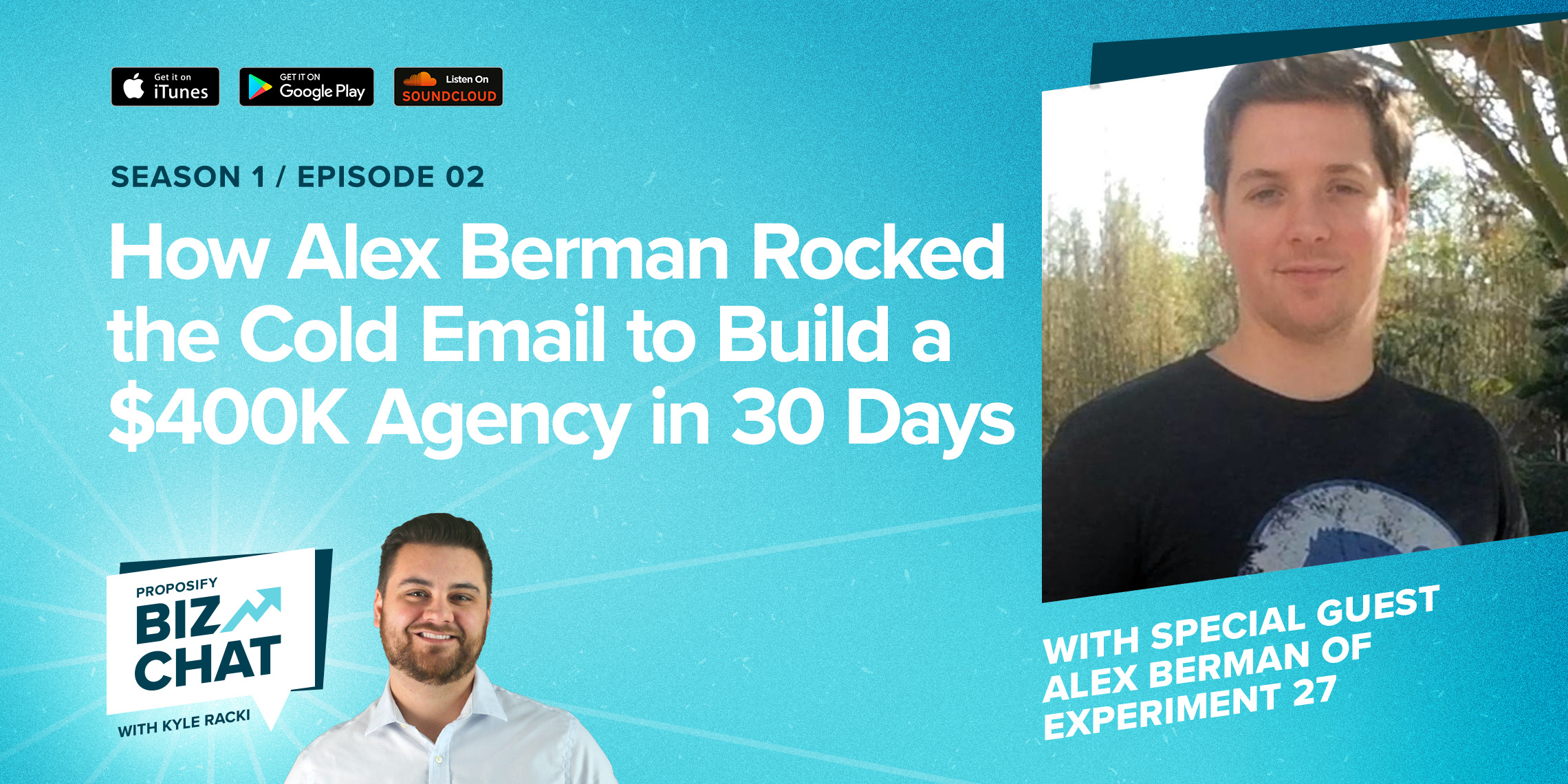 How Alex Berman Rocked The Cold Email To Build A $400K Agency In 30 Days PBC-002