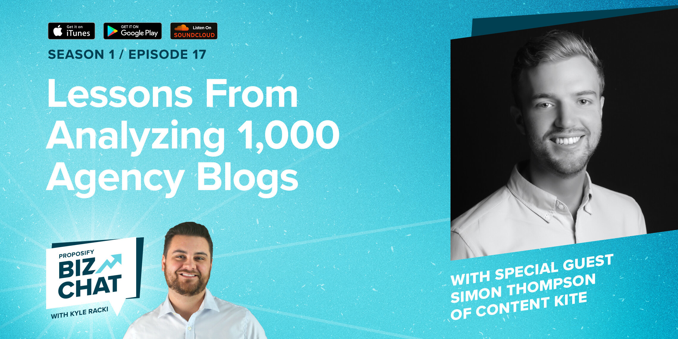 Lessons From Analyzing 1,000 Agency Blogs Ep. 017