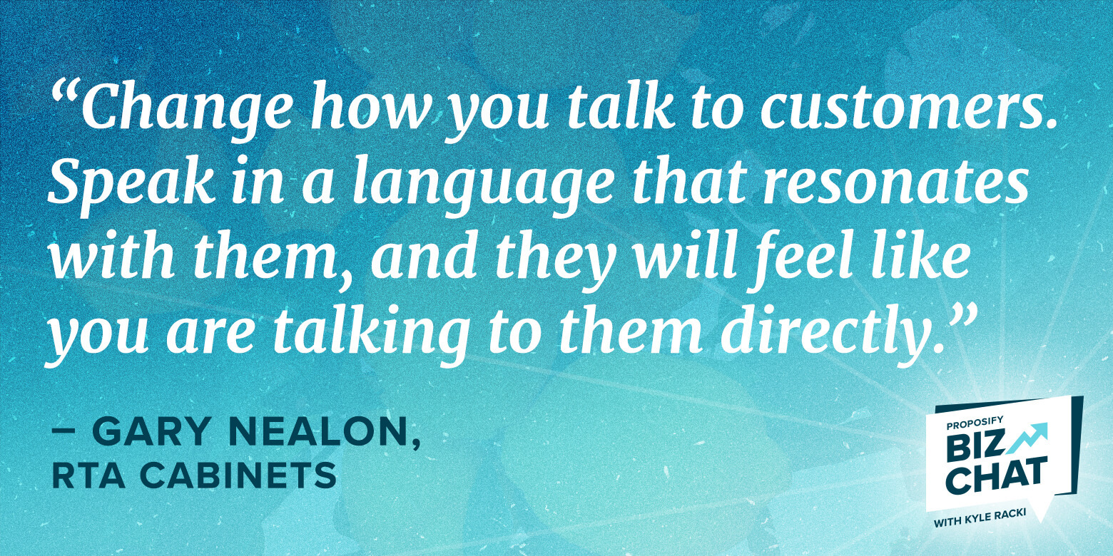 How to Stand Out: Gary Nealon's Strategy for Targeting Ecommerce Customers