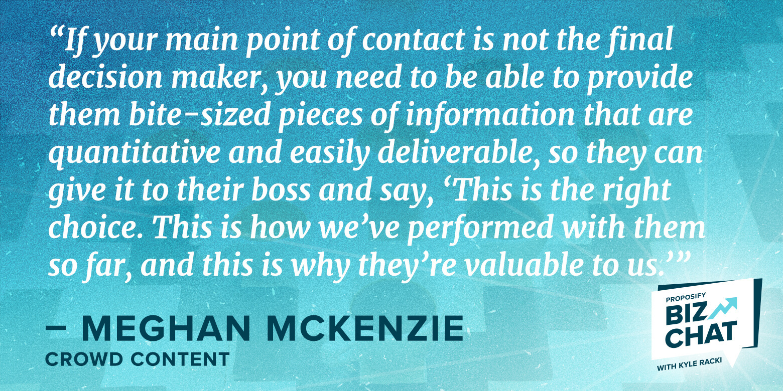 How Meghan McKenzie Writes Content That Wins Enterprise Clients