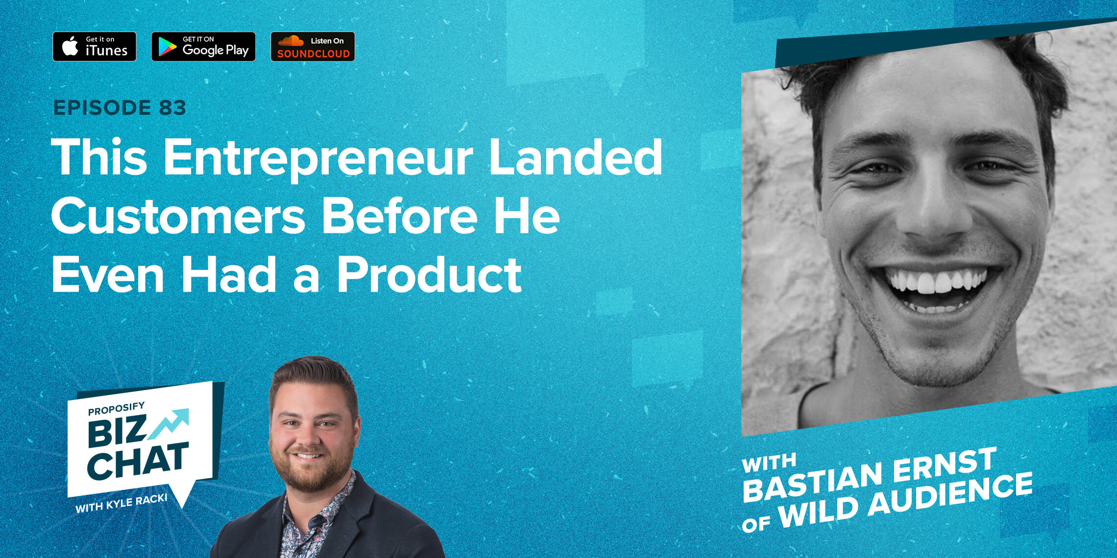 This Entrepreneur Landed Customers Before He Even Had a Product