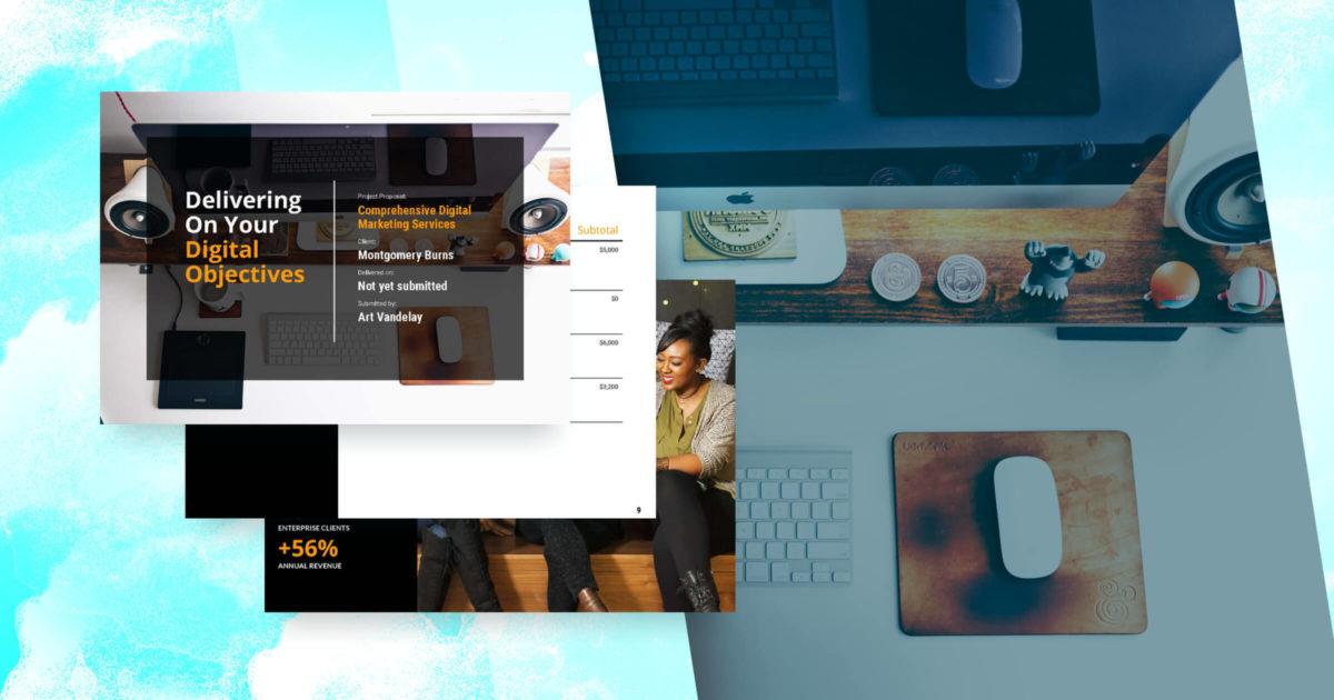 Digital Marketing Proposal Template Free Sample Proposify