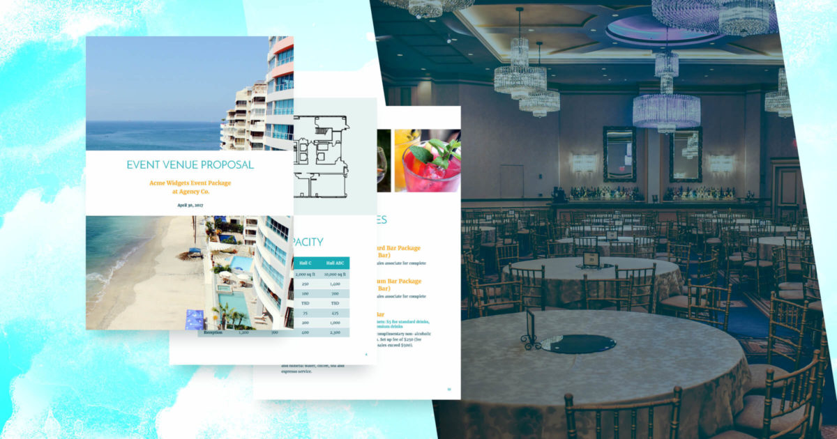 Event Venue Proposal Template - Free Sample | Proposify