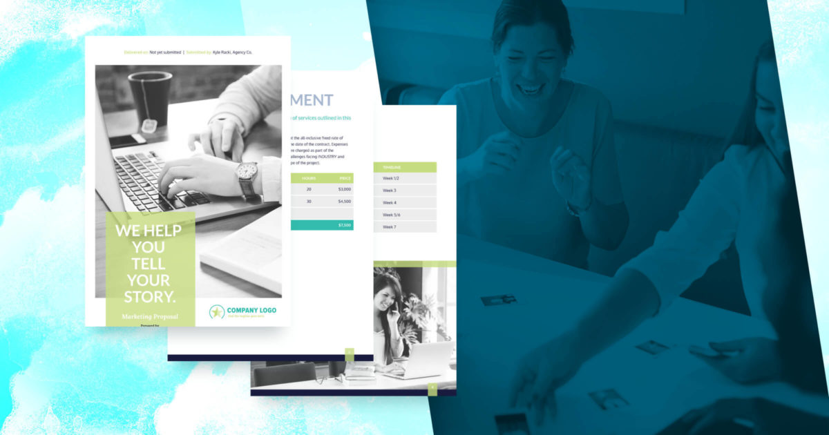 Marketing Proposal Template - Free Sample | Proposify