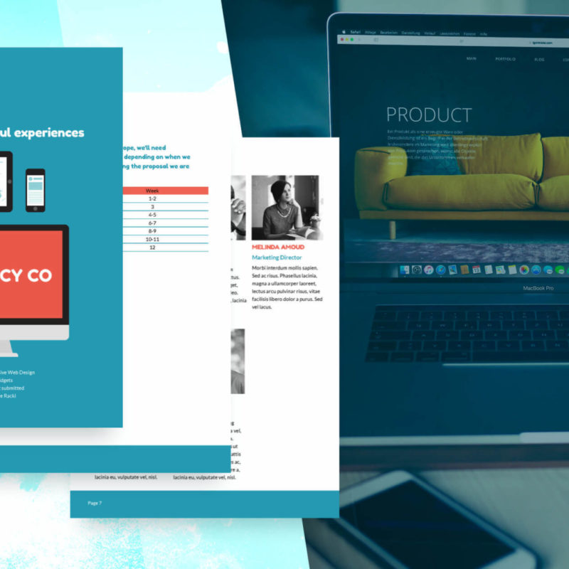 Web Design Proposal Template - Free Sample | Proposify