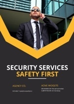 Security Proposal Template