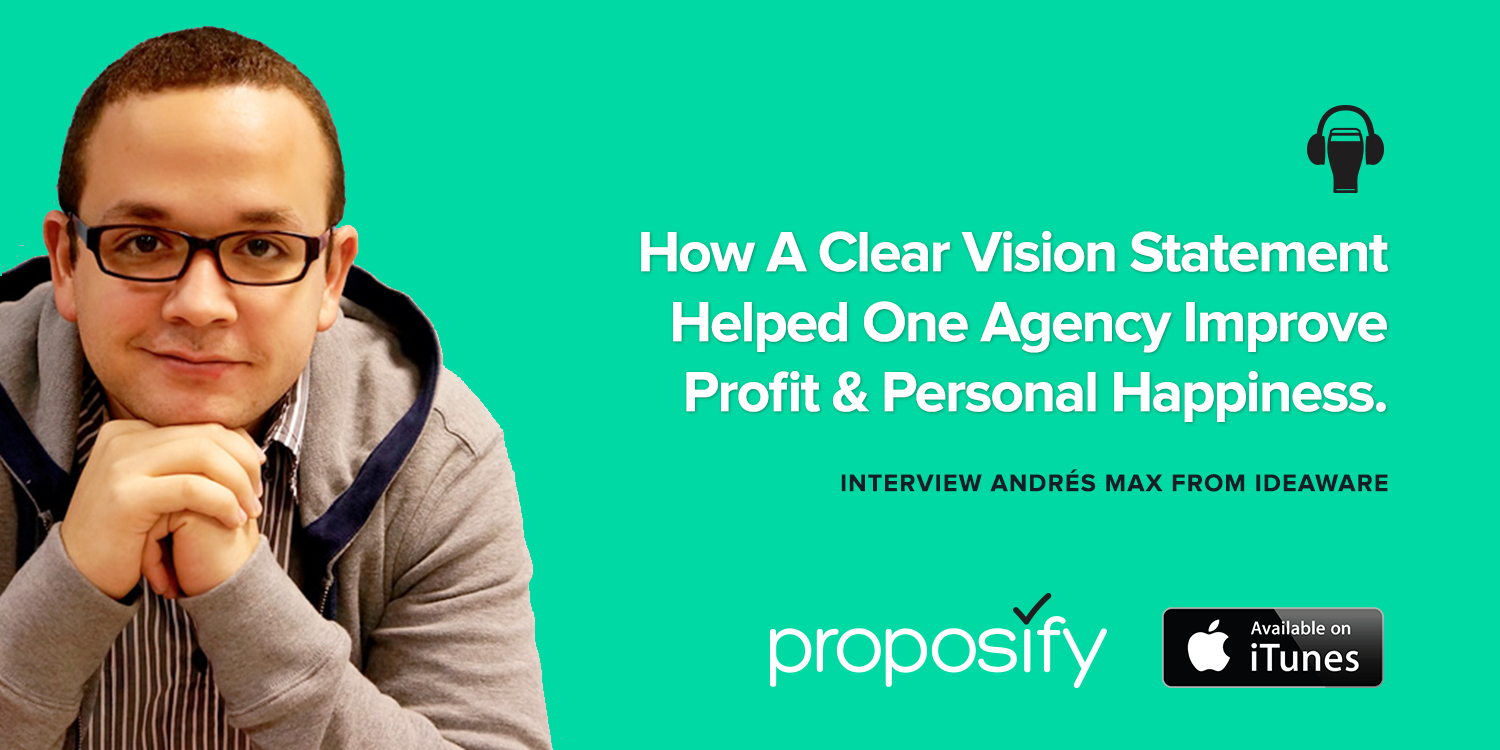 How A Clear Vision Statement Helped One Agency Improve Profit & Personal Happiness.