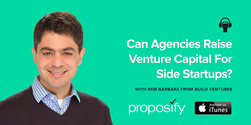 Can Agencies Raise Venture Capital For Side Startups?