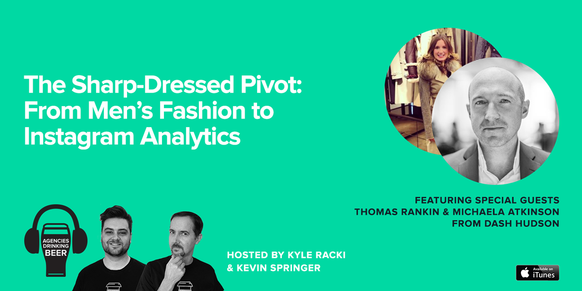 The Sharp-Dressed Pivot: From Men's Fashion to Instagram Analytics