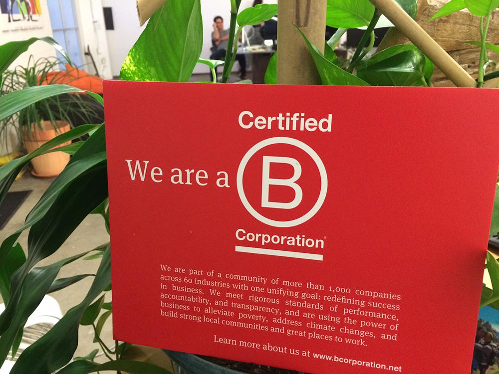 Organik SEO Certified B Corp