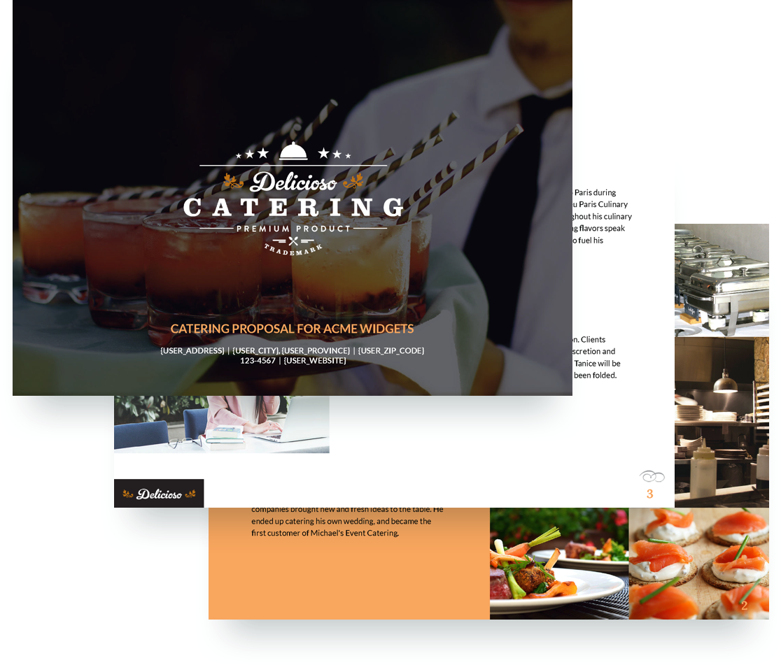 Catering Proposal Template
