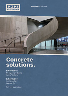 Concrete Proposal Template