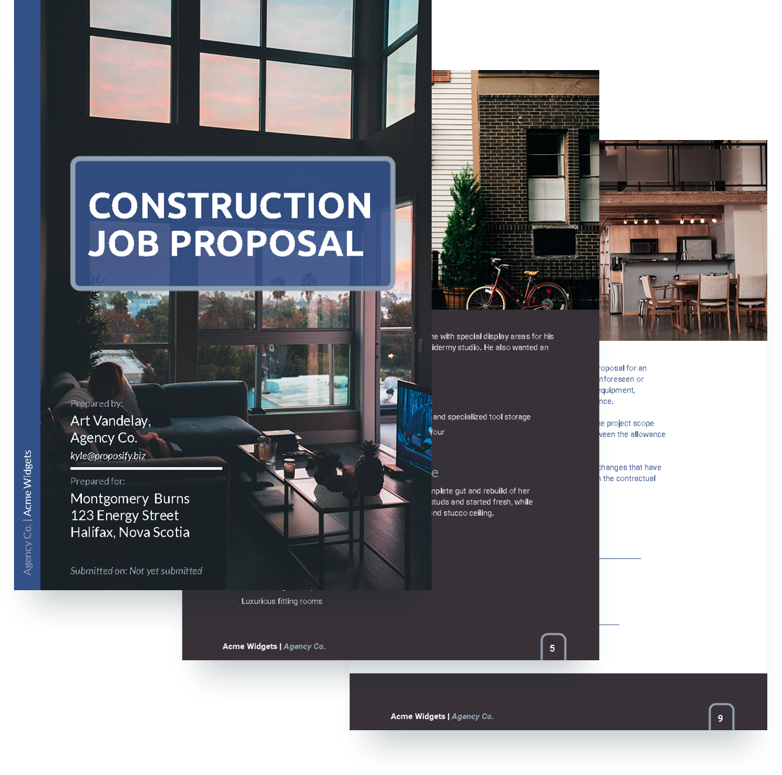 Construction Job Template