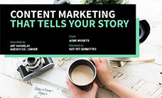 Content Marketing Proposal Template