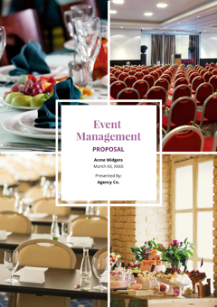 Event Management Proposal Template