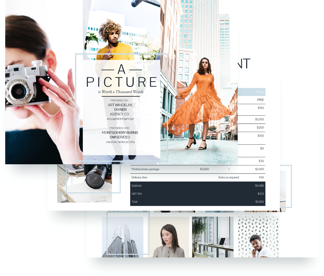 Corporate Photography Template