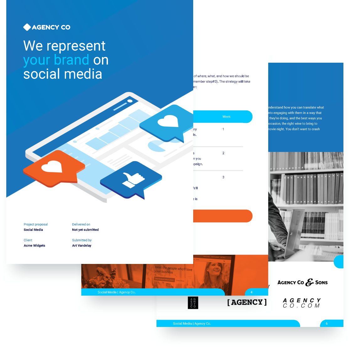 Social Media Proposal Template Free Sample Proposify