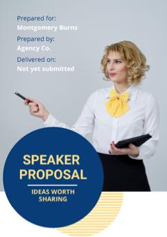 Speaker Proposal Template