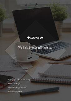 Web Audit/Strategy Proposal Template