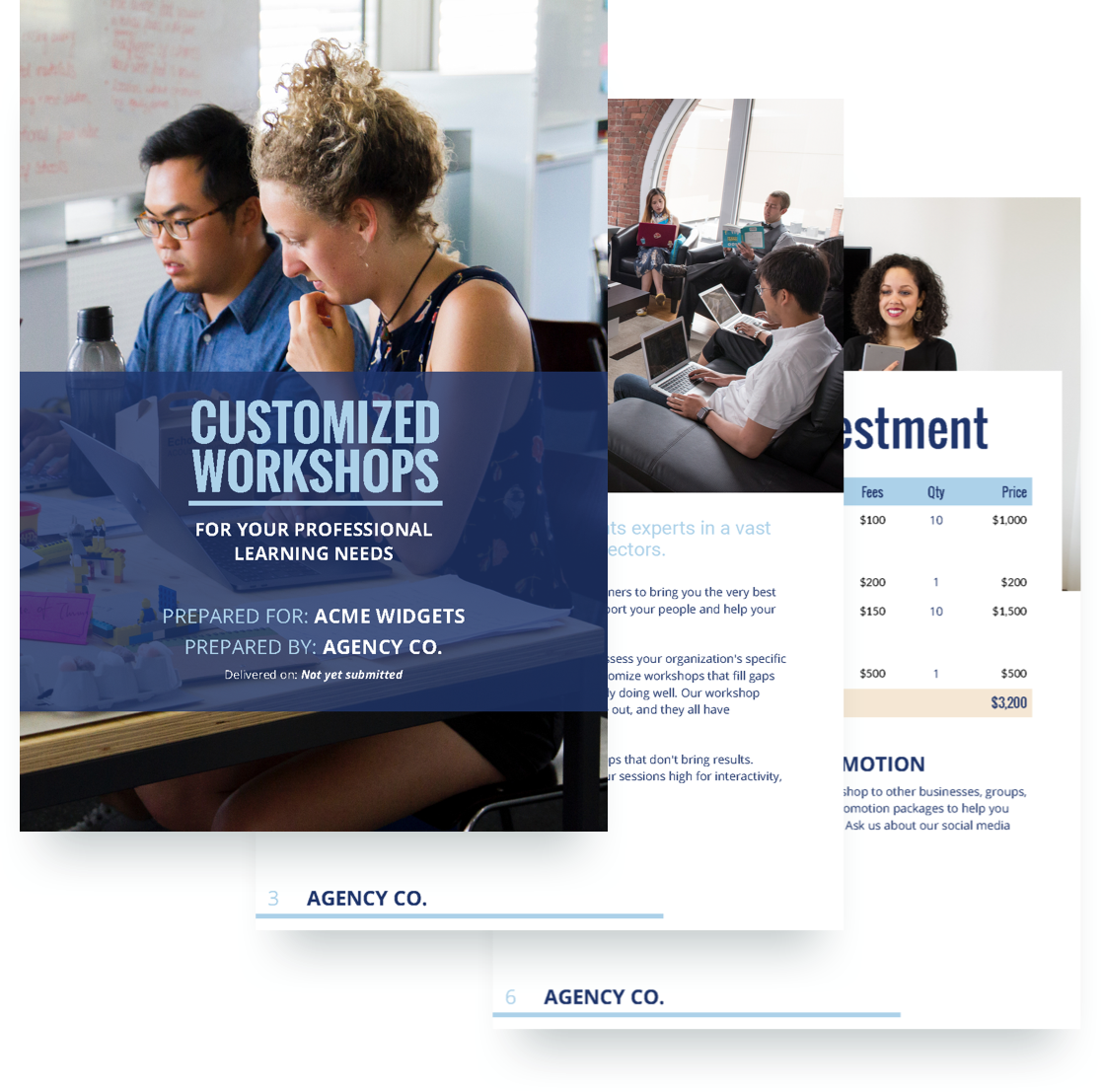 Workshop Proposal Template Free Sample Proposify